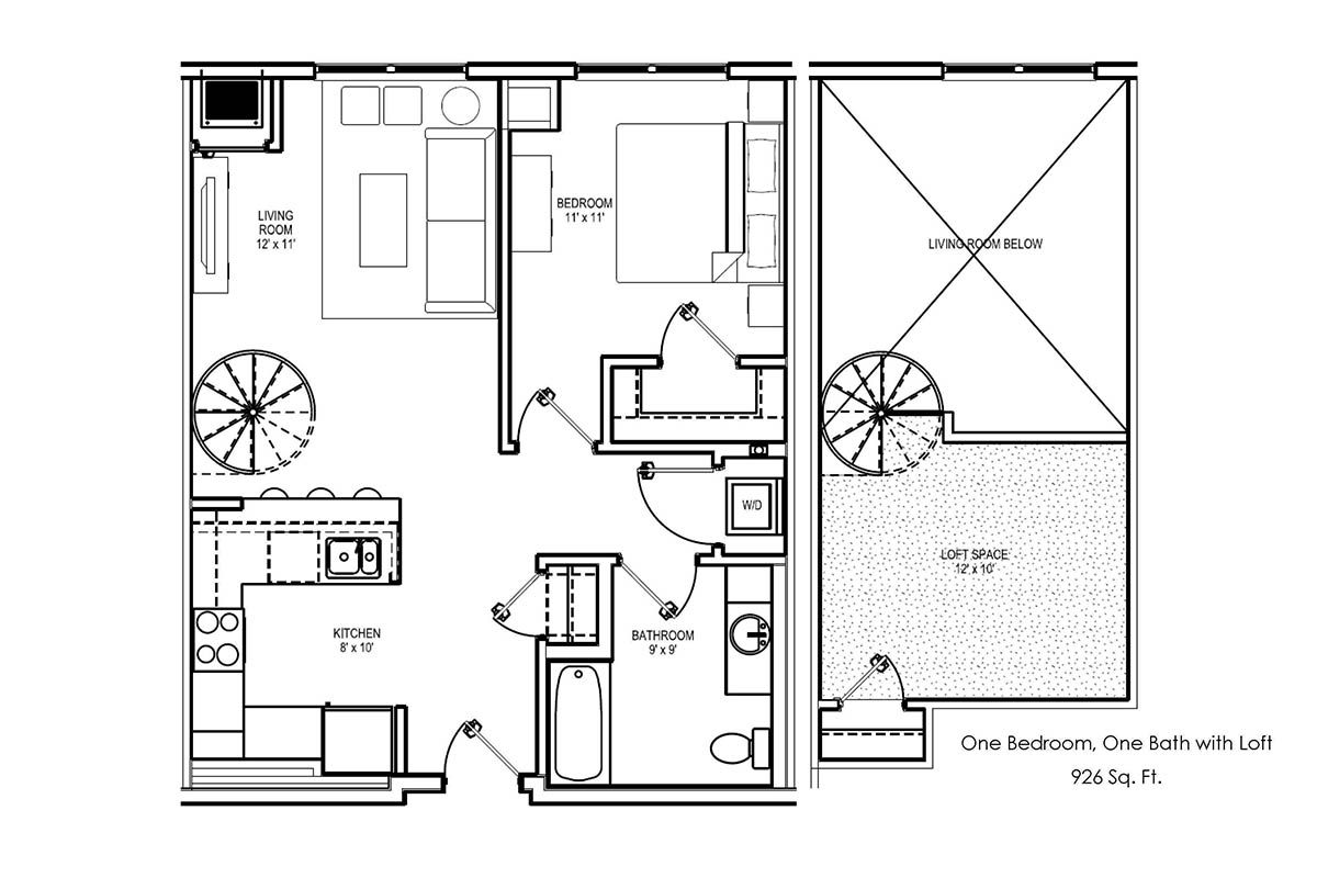 Floor Plans 6 North Apartments Manchester Nh